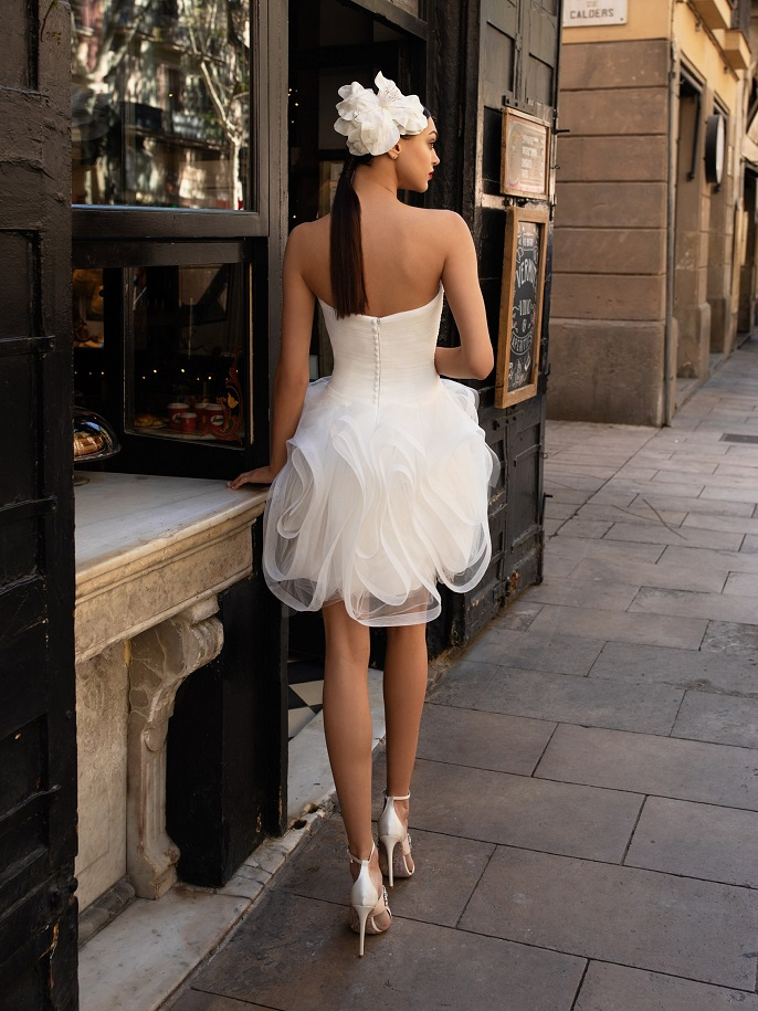 Pronovias little white dress