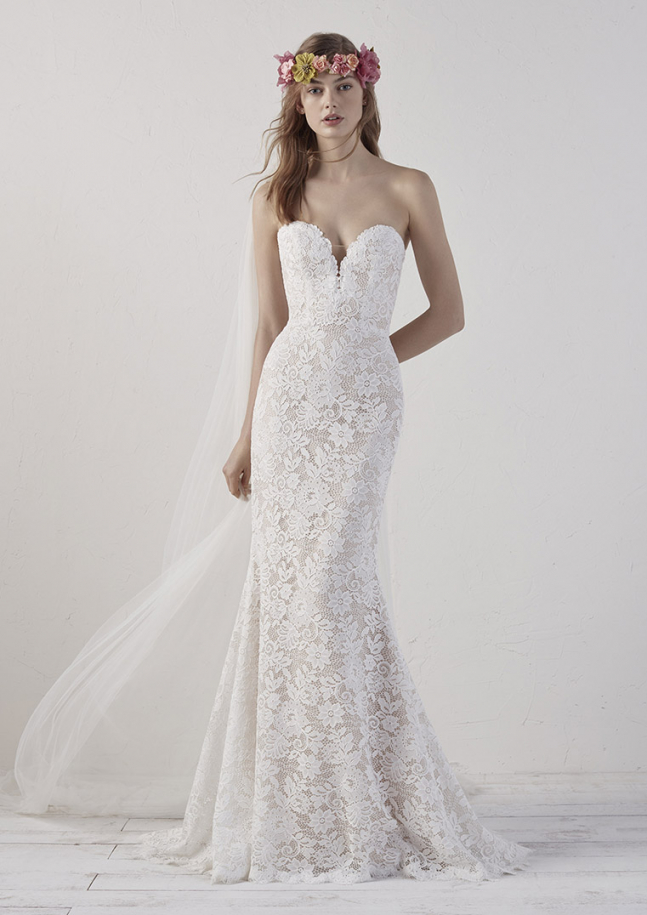 Trouwjurken Pronovias collectie 2019